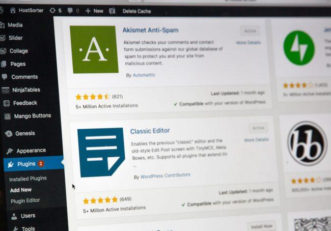 Uppdatera WordPress